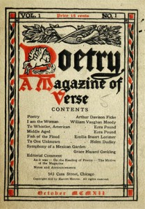 Poetry Vol 1 Issue 1